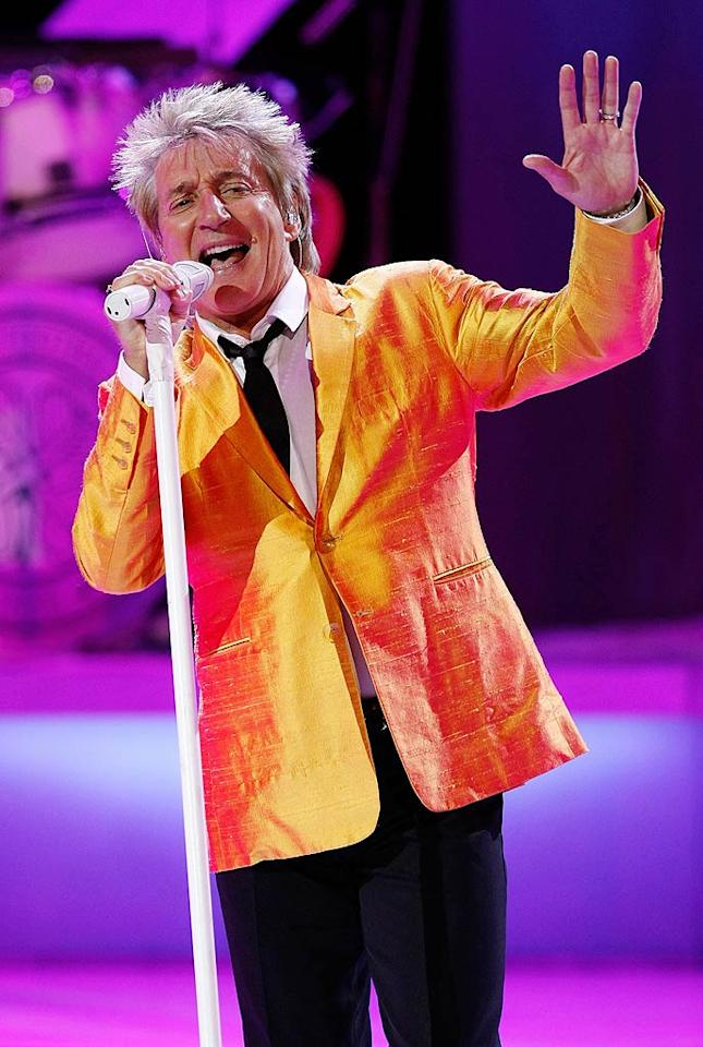 """January 10: Rod Stewart turns 66 Ethan Miller/<a href=""""http://www.gettyimages.com/"""" target=""""new"""">GettyImages.com</a> - November 6, 2010"""