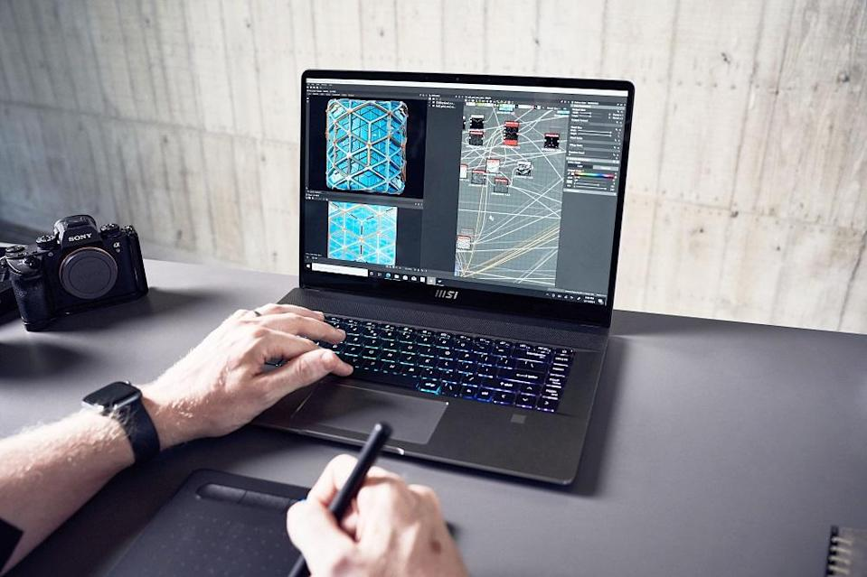 MSI Creator Z16 is built for creative professionals. ― Picture courtesy of MSI