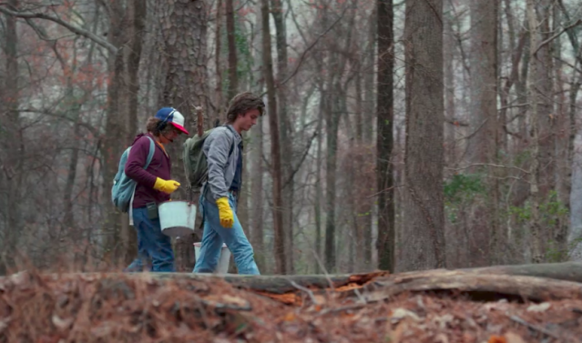 Here's hoping Season 3 will see more of Steve (Joe Keery) and Dustin (Gaten Matarazzo) working together. (Photo: Netflix)