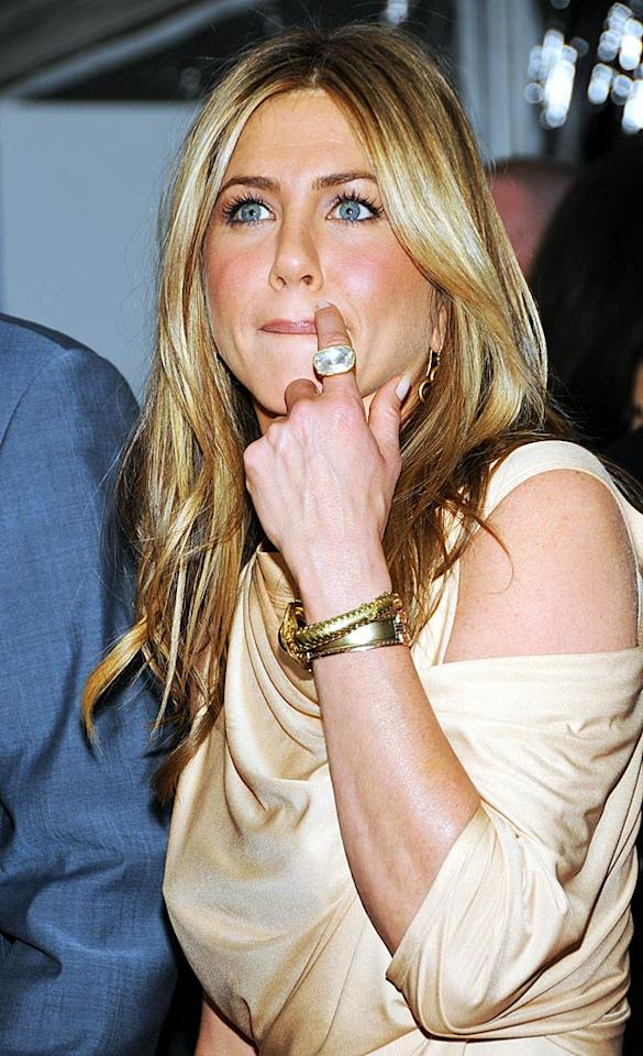 """""""Jennifer Aniston is set to be the subject of a reality TV show,"""" writes Showbiz Spy, which goes on to detail how the """"Friends"""" star was approached by former MTV programming president Tony DiSanto about doing """"a fly-on-the-wall series"""" that would allow viewers to """"see how she goes about her day-to-day life... and get an insight into her love life."""" For the full scoop on the show, see what DiSanto himself exclusively tells <a href=""""http://www.gossipcop.com/jennifer-aniston-reality-show-series-mtv/"""" target=""""new"""">Gossip Cop</a>. Blink/<a href=""""http://www.splashnewsonline.com"""" target=""""new"""">Splash News</a> - March 16, 2010"""