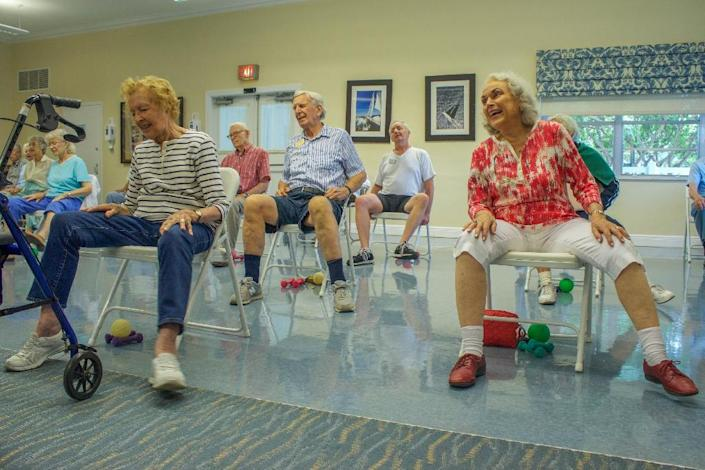 Exercise, rather than supplements like vitamin D, is the best way to avoid falls, the leading cause of injury-related death among people over 65, new US guidelines say (AFP Photo/Federica NARANCIO)