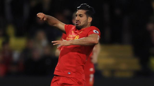 Liverpool beat Watford courtesy of an Emre Can stunner and the Germany midfielder ranked the goal as the best he has scored.