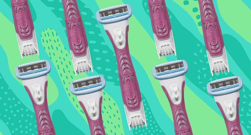 Schick Hydro Silk TrimStyle Razor and Bikini Trimmer. (Photo: Amazon, Yahoo Lifestyle)