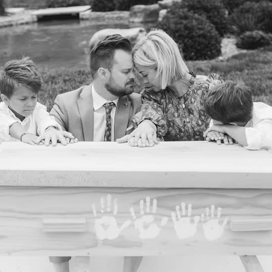 Ashley Stock shared a series of touching photos from the funeral for her three-year-old daughter Stevie.