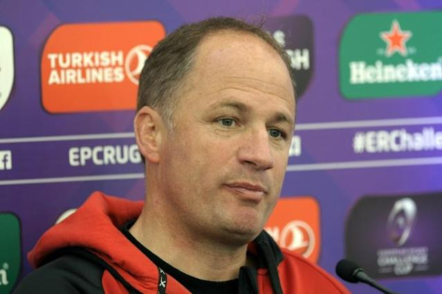 Gloucester's director of rugby Humphreys will leave the club at the end of this month (AFP Photo/Andy Buchanan)