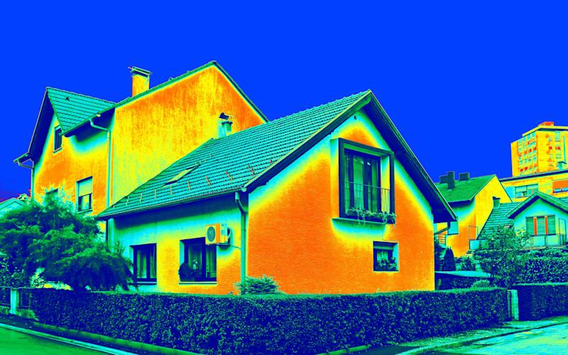 New homes are often not as efficient as older houses - Ivan Smuk / Alamy