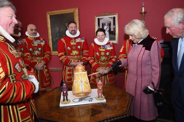 Royal visit to the Tower of London