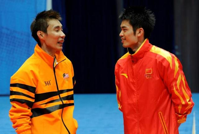 The two players were close friends off the court (AFP Photo/LIU JIN)