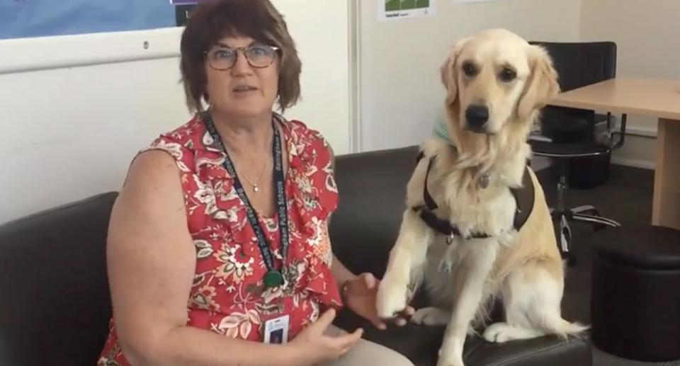 Lyn Hemsoth and her therapy dog Sukha both died of gunshot wounds. Source: The News Tribune