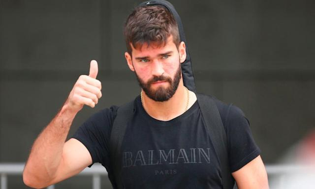 Liverpool sign Roma goalkeeper Alisson for world-record £66.9m fee