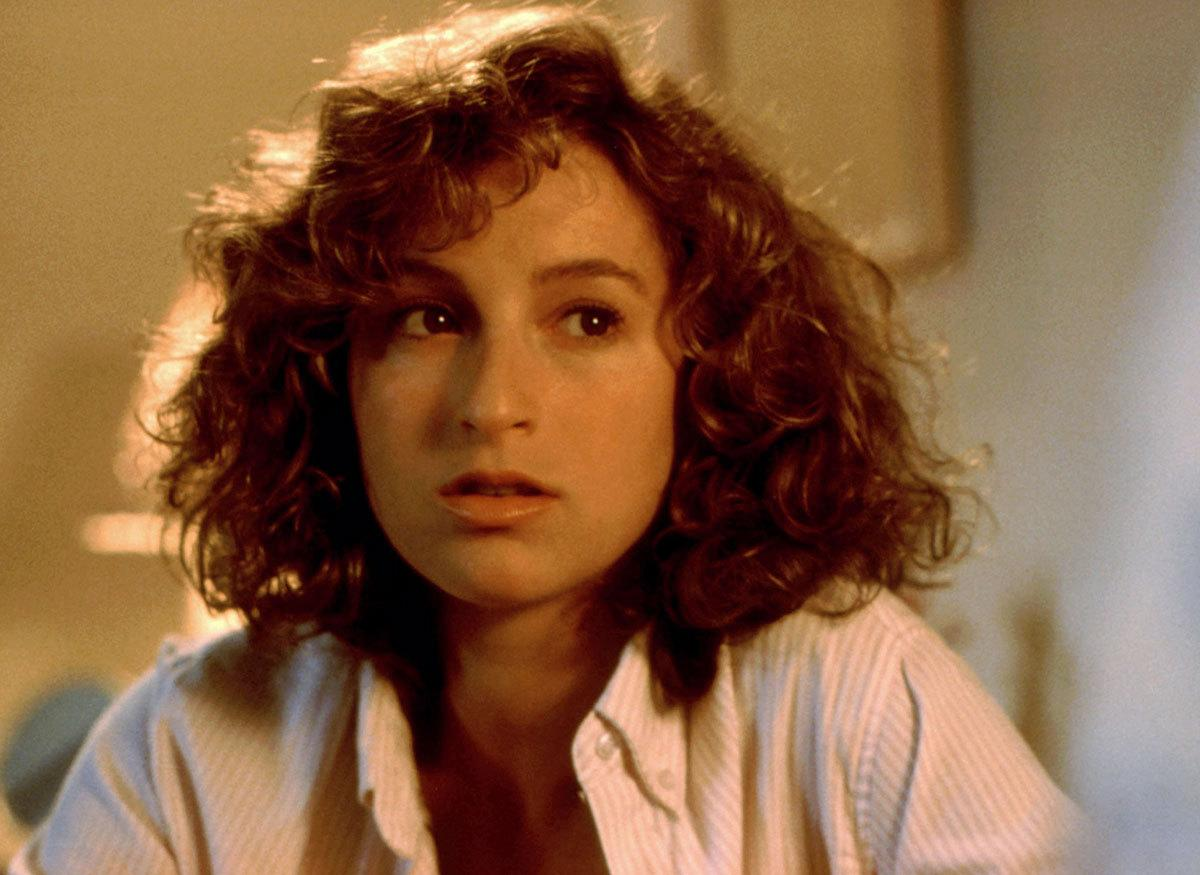 "Jennifer Grey as Frances ""Baby"" Houseman in 'Dirty Dancing' (1987) Real age at the time: 27 - Character age: 17"
