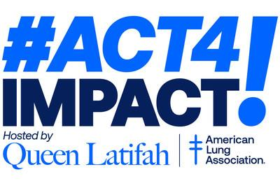On Saturday, September 26 at 7 p.m. ET/6 p.m. CT tune in for #Act4Impact, a Facebook Live fundraising benefit hosted by Queen Latifah. Funds raised will go towards the American Lung Association's efforts to defeat COVID-19 and decrease health disparities by supporting and safeguarding lung health, particularly in underserved communities.