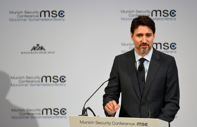 Canada's Trudeau demands from Iran independent probe into downed airliner