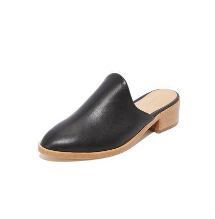 "These block-heeled loafers are the perfect fall shoe. Pair them with jeans, skirts, dresses and more. Plus, <a href=""https://www.shopbop.com/venetian-mules-soludos/vp/v=1/1542634209.htm?currencyCode=USD&extid=SE_froogle_SC_usa&cvosrc=cse.google.SOLUD40646&cvo_campaign=SB_Google_USD&ef_id=VbotfAAABNkU5eS3:20171026140048:s"" target=""_blank"">you can snag free shipping</a> on them now, too."