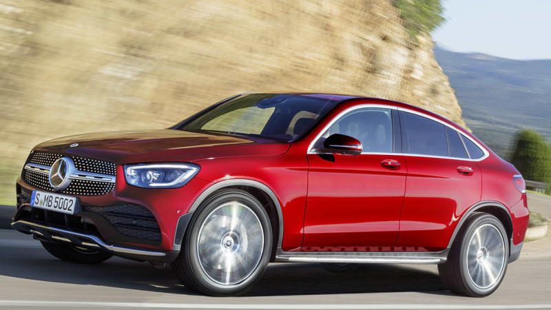 2020 Mercedes Benz Glc Coupe Preview