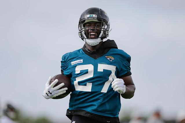 After a disappointing 5-11 season last fall, Jacksonville running back Leonard Fournette has already seen a big change within the team just days into training camp. (David Rosenblum/Getty Images)