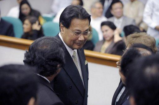 Corona is accused of trying to protect graft-tainted ex-president Gloria Arroyo from prosecution