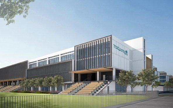 isual plans for North London Collegiate School, which will open in Dubai - Credit: NLCS