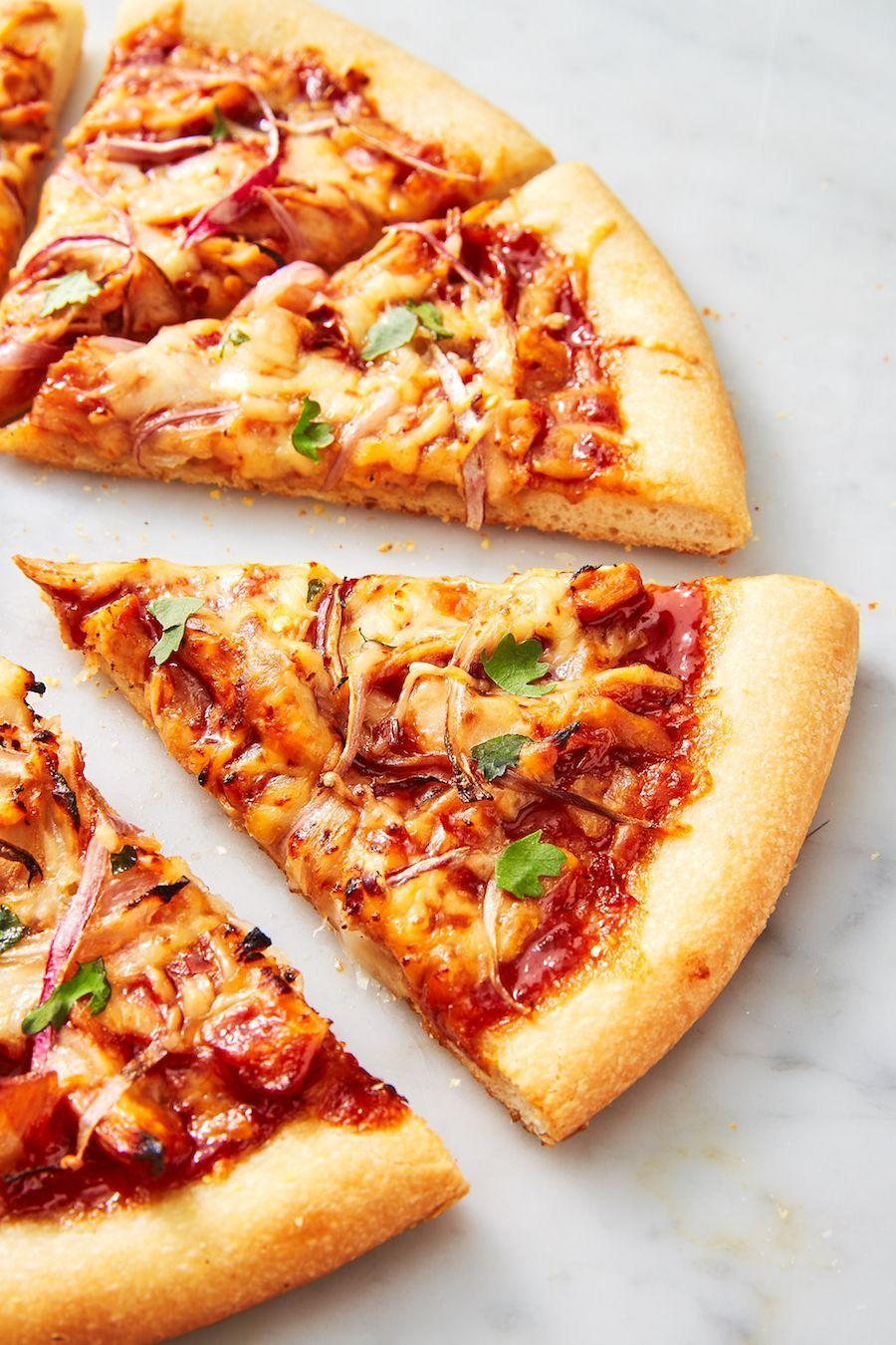 "<p>Skip take-out and make a pie yourself this spring!</p><p>Get the recipe from <a href=""https://www.delish.com/cooking/recipe-ideas/a25847047/bbq-chicken-pizza-recipe/"" rel=""nofollow noopener"" target=""_blank"" data-ylk=""slk:Delish"" class=""link rapid-noclick-resp"">Delish</a>.</p>"