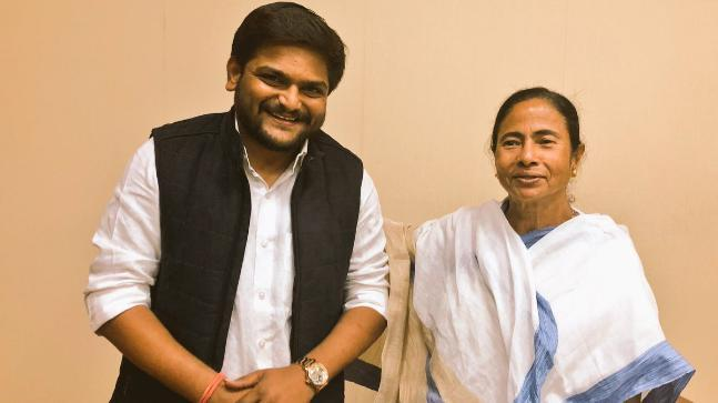 When asked about Hardik's hopes to unite the opposition under her leadership, Mamata remarked they were already acting on it.
