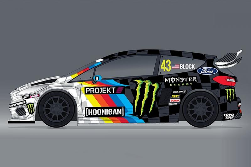 Block joins WRX-supporting Projekt E in electric Fiesta