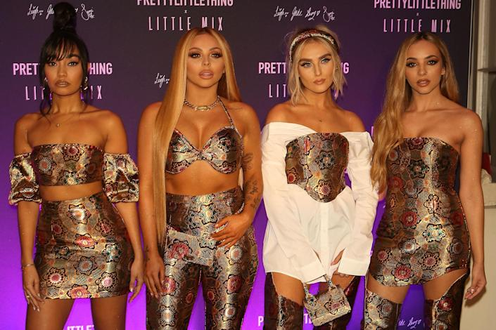 Perrie Edwards, Jesy Nelson, Leigh-Anne Pinnock and Jade Thirlwall of Little Mix (Photo by David M. Benett/Dave Benett/Getty Images)