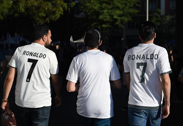 How many of Real Madrid's millions of fans were actually just Cristiano Ronaldo fans? (Getty)