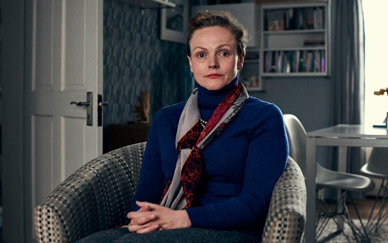 Maxine Peake is Miss Fozzard in Talking Heads - BBC