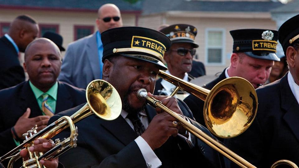 Wendell Pierce in Treme, on HBO