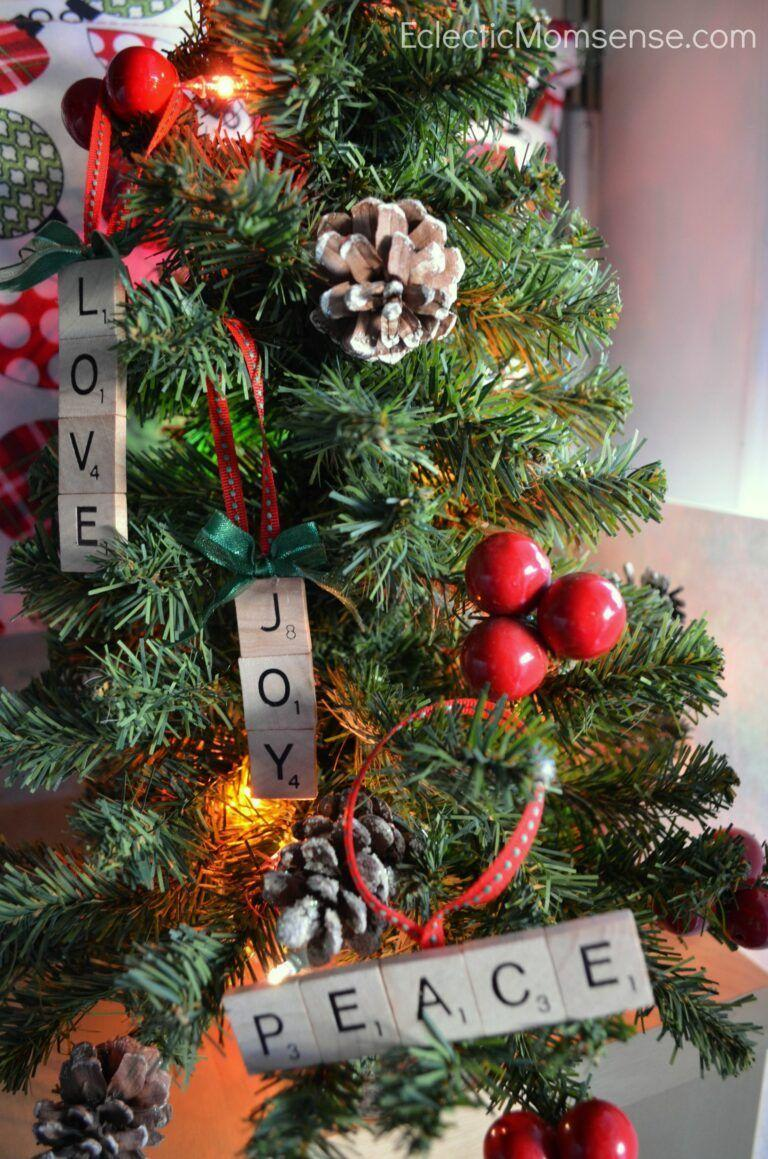"""<p>Make quick work out of personalized ornaments with letter tiles. </p><p><em>Get the tutorial at <a href=""""https://www.anightowlblog.com/personalized-scrabble-ornaments/"""" rel=""""nofollow noopener"""" target=""""_blank"""" data-ylk=""""slk:A Night Owl Blog"""" class=""""link rapid-noclick-resp"""">A Night Owl Blog</a>.</em> </p><p><a class=""""link rapid-noclick-resp"""" href=""""https://www.amazon.com/Sunnyglade-Scrabble-Capital-Pendants-Spelling/dp/B07D77QJP6?tag=syn-yahoo-20&ascsubtag=%5Bartid%7C10072.g.34443405%5Bsrc%7Cyahoo-us"""" rel=""""nofollow noopener"""" target=""""_blank"""" data-ylk=""""slk:SHOP LETTER TILES"""">SHOP LETTER TILES</a></p>"""