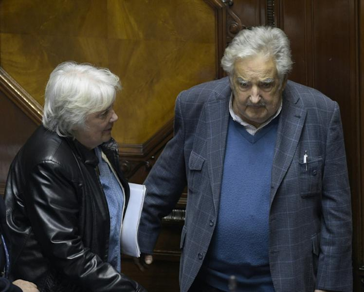 Former president Jose Mujica and his vice president wife Lucia Topolansky were urban guerrillas prior to taking up politics