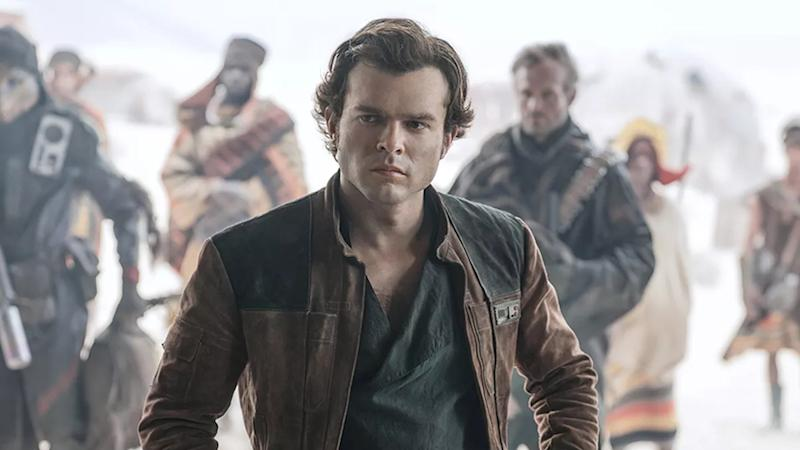 Alden Ehrenreich stepped into Harrison Ford's shoes for 'Solo: A Star Wars Story'. (Credit: Disney)