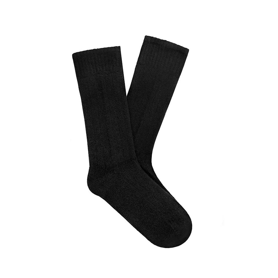 "<p>(Cost: $75) We admit that $75 is a lot to pay for a pair of socks, but these aren't just any socks. The Anchorage cashmere socks from <a rel=""nofollow"" href="""">Naadam</a> are milled in Italy and will make you feel like you're walking on air. Airplane cabins are always cold, so these socks are the perfect comfy accessory for a long international flight. </p>"
