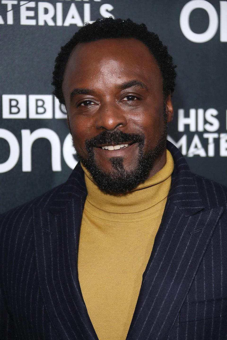 """<strong><h2>Ariyon Bakare Plays Lord Carlo Boreal</h2></strong> <br> <strong>Who Is Carlo?<br></strong>He is an old Englishman, and has a touch and go history with Mrs. Coulter, who once seduced him for information. He meets Lyra multiple times, oftentimes stealing with he needs from her leaving her to try and win it back. His dæmon is a serpent. <br> <br> <strong>Where You've Seen Bakare?<br></strong>Bakare is no stranger to magical words, having appeared on <em>Carnival Row</em> as Darius, and <em>Good Omens</em> as Ligur. He also starred in the BBC soap opera <em>Doctors</em> in the early 2000s. <span class=""""copyright"""">Photo: Mike Marsland/WireImage.</span>"""
