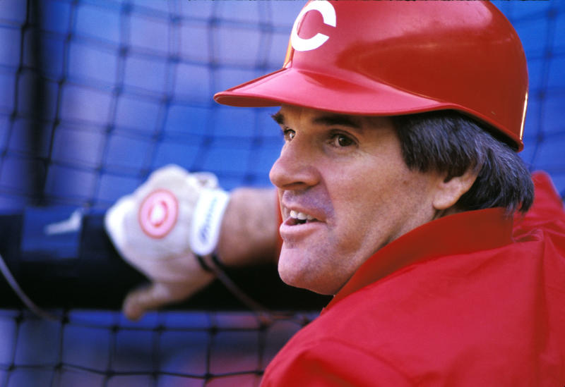 Pete Rose played all over the diamond, but found a home at third base with the Reds. (Photo by Kim Kulish/Corbis via Getty Images)
