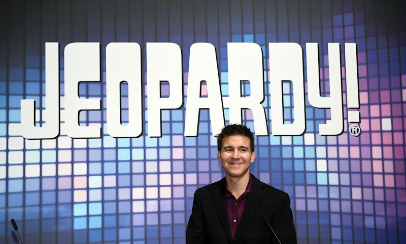 "James Holzhauer is back on ""Jeopardy!"" (Photo by David Becker/Getty Images)"