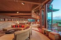 """<p>If you're planning a trip to Hawaii and need a place to stay, look no further than this stunner—the only Frank Lloyd Wright–designed house in the state. Unlike the other stays on this list, this house is based on an unrealized plan by Wright and brought to life in 1995 by Taliesin Associated Architects, John Rattenbury, and the Frank Lloyd Wright Foundation.<br></p><p>But just because it's newer (and features modern day amenities like a lava rock hot tub) doesn't mean it lacks classic Wright principles: Nature was always at the forefront of his designs, and he took into account the time, place, and inhabitants in order to create the best livable spaces. Similarly, this 3,700-square-foot house is perched over the Waiaka stream with views of the ocean and mountains, plus views of the three famous active volcanoes on the Big Island. The rounded walls are made of coral aggregate block from Oahu, and the house features Wright's signature red concrete floors and opaque skylights throughout.</p><p>Book your stay <a href=""""https://www.vrbo.com/108255?preferlocale=true&vgdc=HAUS"""" rel=""""nofollow noopener"""" target=""""_blank"""" data-ylk=""""slk:here"""" class=""""link rapid-noclick-resp"""">here</a>.</p>"""