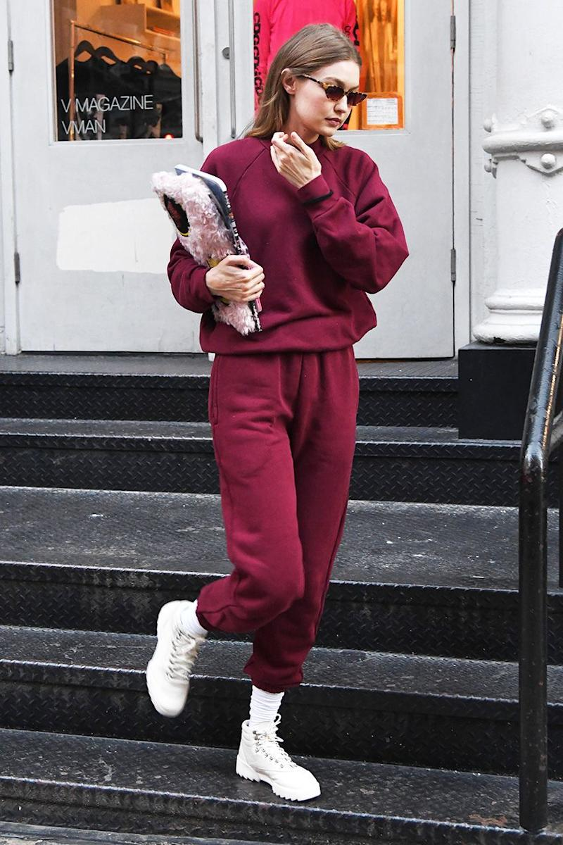 4a15bbf6797 Did Gigi Hadid Just Wear the First It Sneakers of 2019