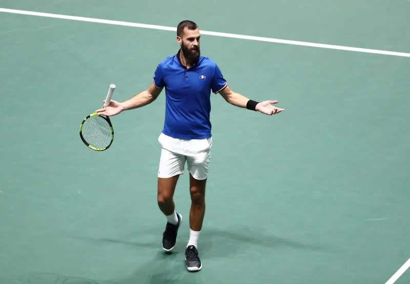 Paire tests positive for COVID-19 before U.S. Open: L'Equipe