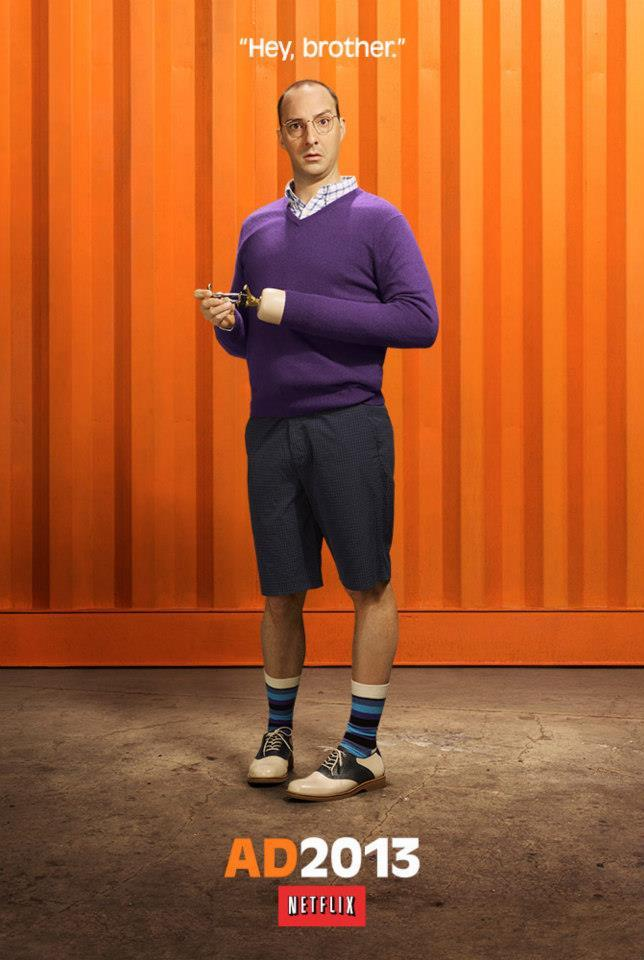 "Tony Hale as Buster Bluth on ""Arrested Development"" Season 4."
