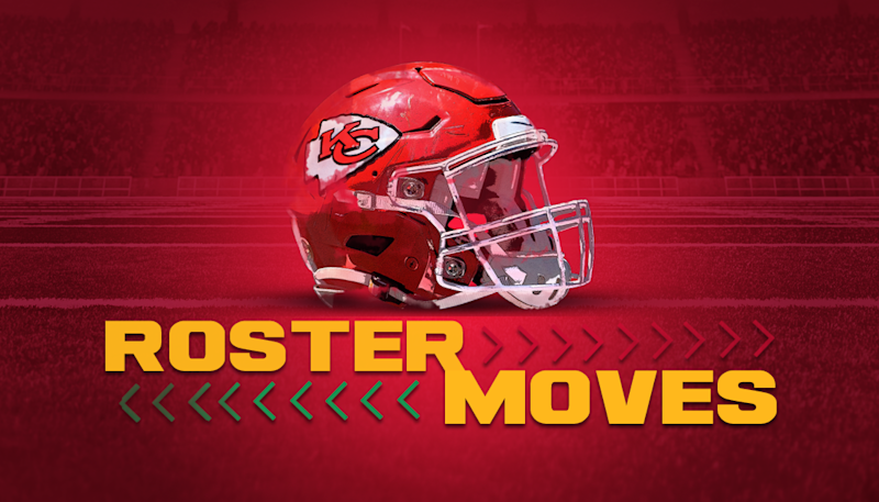 Chiefs announce two roster moves on Wednesday