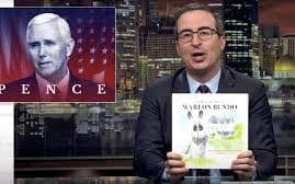 "British satirist John Oliver has succeeded in lampooning Mike Pence after his spoof book about the vice president's family's pet rabbit outsold the original. Oliver, one of the best known political comedians on US television, took Mr Pence's children's story about Marlon Bundo and made the bunny gay, mocking the vice president's conservative views on homosexuality and humiliating him in the bestsellers charts. John Oliver, who was committed to his joke, published a copycat story the day before the Vice President's was due to be released, and it has managed to outsell the original on Amazon. In the original, Marlon Bundo's A Day In the Life of the Vice President, the Pence family pet learns about the daily responsibilities of the vice president. The book was written by Pence's daughter Charlotte and illustrated by his wife, Karen. In order to make fun of Mr Pence's views on homosexuality, Oliver caused the protagonist Marlon Bundo, to fall in love with another male in his version. Meet Marlon Bundo, a lonely bunny who lives with his Grampa, the Vice President of the United States. But when Marlon meets Wesley and falls in love, his life changes forever. pic.twitter.com/XfkCUeFt6m— Chronicle Books (@ChronicleBooks) March 19, 2018 Oliver's book was penned by comedian and staff writer Jill Twiss, and the synopsis says it is about ""a lonely bunny who lives with his grampa, the vice-president of the United States"" who one day ""falls in love with another boy bunny"". Proceeds from the book will go to Aids United and the LGBTQ charity the Trevor Project. Mr Pence's daughter, 24, confirmed she bought a copy of Oliver's re-telling, and told Fox Business: ""But in all seriousness, his book is contributing to charities that I think we can all get behind. We have two books that are giving to charities that are both about bunnies, so I'm all for it, really. Charlotte Pence and Marlon Bundo Proceeds from her book will be split between Tracy's Kids, an organization that provides art therapy to cancer patients, and A21, a non-profit that fights human trafficking.  Her father, however, has not commented. He is famously opposed to gay marriage, and said in 2006 that  it would lead to the ""deterioration of the family"" and ""societal collapse"". Happy to support charities and important causes ���� https://t.co/97yHSFk7mZ— Charlotte Rose Pence (@charlipence) March 21, 2018 Oliver urged his fans to buy a copy of the book, saying on his television show: ""Selling more books than Pence will probably really p--- him off."" The book-buying frenzy sparked debate among fans of John Oliver and those with similar views to Mike Pence, with many leaving one-star reviews under each book on Amazon. YOU GUYS! My book is out TODAY! Dream come true. Thank you!! ������❤️ #linkinbio A post shared by Marlon Bundo (Pence) (@marlonbundo) on Mar 19, 2018 at 4:06am PDT One reviewer wrote that they bought Pence's book ""in response to Mr Oliver's hate-filled diatribe"", while another wrote they bought Oliver's as an ""up yours to Mr Pence!"""