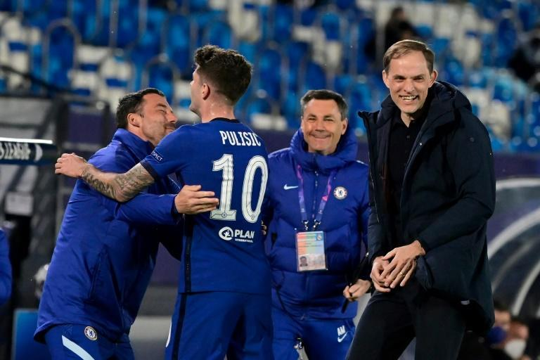 Chelsea have lost just two of Thomas Tuchel's (right) 22 games since taking charge