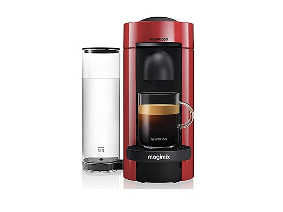 Nespresso vertuo plus special edition 11389 coffee machine by magmix, red: Was £179.99, now £68.99, Amazon.co.uk (Amazon)