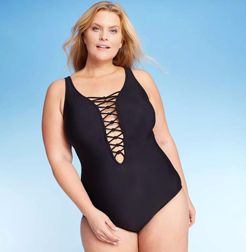 "<a href=""https://fave.co/32aAfCK"" target=""_blank"" rel=""noopener noreferrer"">This swimsuit is $43 and qualifies for the BOGO half-off deal</a>."