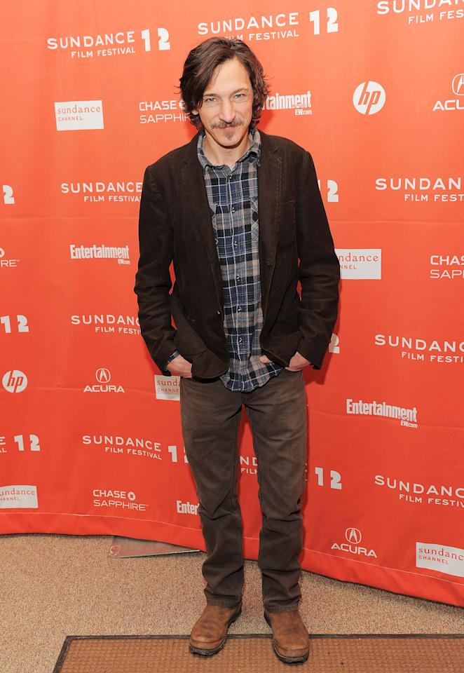 "PARK CITY, UT - JANUARY 23:  Actor John Hawkes attends ""The Surrogate"" premiere during the 2012 Sundance Film Festival held at Eccles Center Theatre on January 23, 2012 in Park City, Utah.  (Photo by Jemal Countess/Getty Images)"