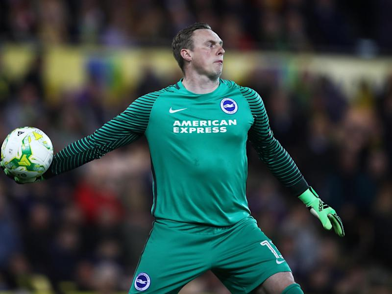 The unfortunate Stockdale conceded two own-goals against Norwich: Getty