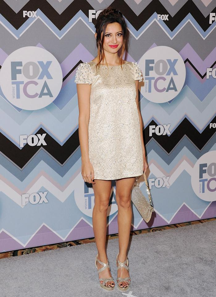 Noureen DeWulf arrives at the 2013 Winter TCA FOX All-Star Party at The Langham Huntington Hotel and Spa on January 8, 2013 in Pasadena, California.