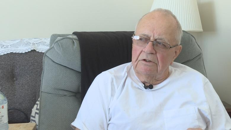 Home alone 1 day after hip replacement: 78-year-old man objects
