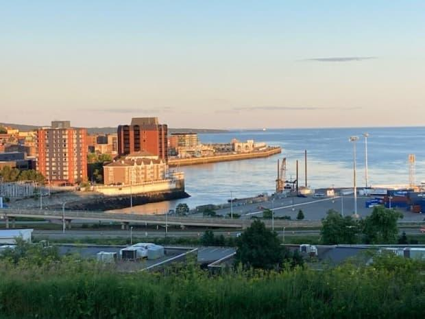 The Saint John Region Chamber of Commerce started a workcation program this past winter to lure remote workers to the New Brunswick city. Mark Hausen, a Toronto resident, was one of the first participants.  (Photo courtesy of Mark Hausen - image credit)